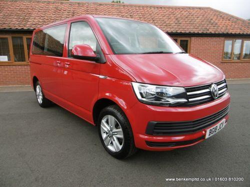 Volkswagen Transporter Shuttle 2.0 TDI BlueMotion Tech SE Shuttle FWD (s/s) 5dr