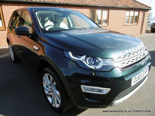 Land Rover Discovery Sport 2.0 TD4 HSE Luxury Auto 4WD (s/s) 5dr